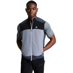 Dare 2b Aptile Veste Homme, aluminium grey/ebony grey